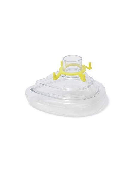 Mascarilla para resucitador manual con borde inflable talla 3