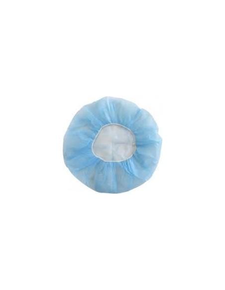 Gorro Desechable Enfermera Azul 100 uds