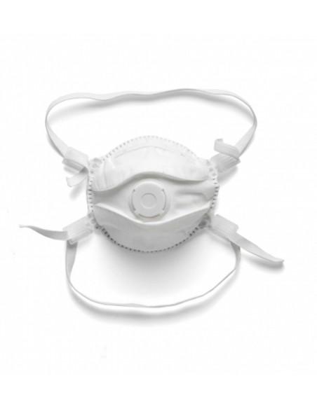 Mascarilla de protección FFP2 cónica con válvula