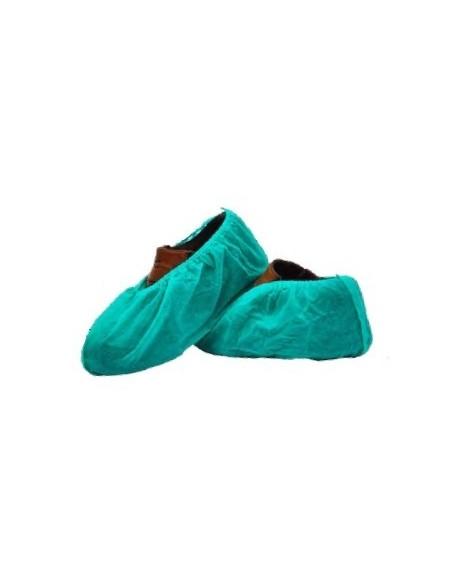 Cubrezapatos desechable de PP verde 30 gr verde 100 uds