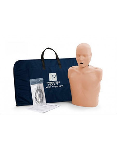 Maniquí RCP-AED adulto con subluxación mandibular