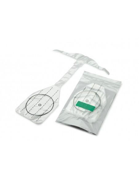 Protector respiratorio maniqui RCP-AED neonatal.10uds