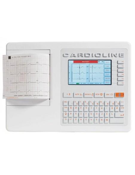 Electrocardiógrafo ECG100S de 6 canales