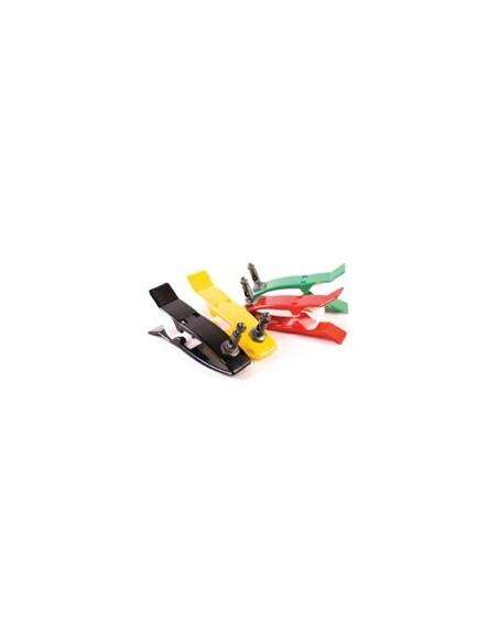 Electrodo periférico tipo pinza, 4 uds adulto. Ag/AgCl
