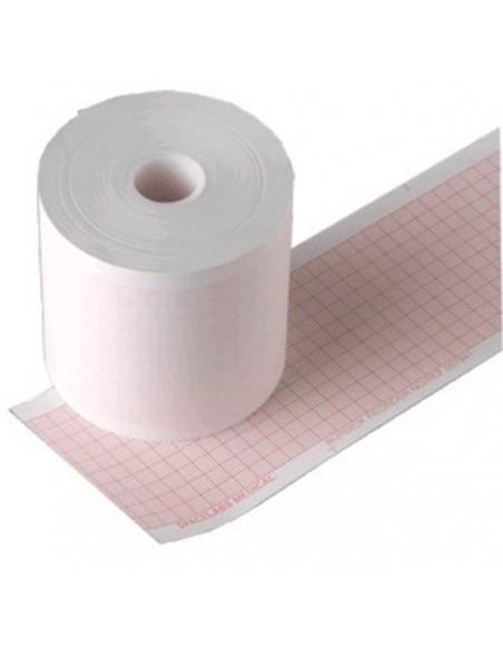 Rollo de papel 60 x 75 mm x 200 hojas. 10 uds