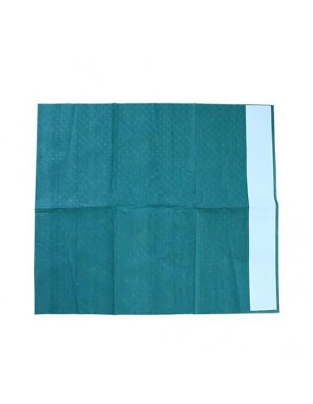 Paño quirúrgico con adhesivo estéril 75 x 90 cm