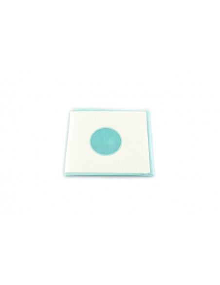 Paño quirurgico 50 x 60 cm fenestrado adhesivo 5 cm