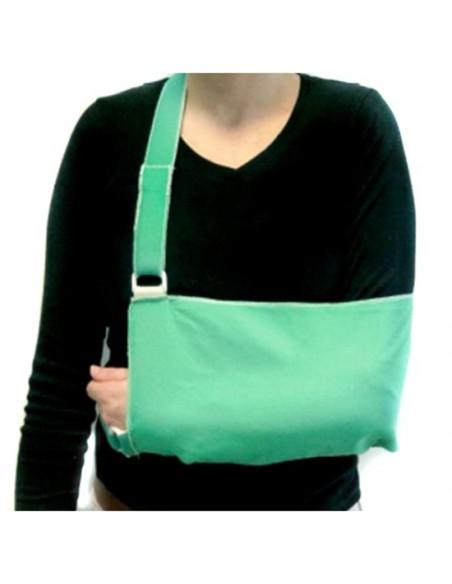 Inmovilizador para brazo y hombro talla mediana.Loneta.