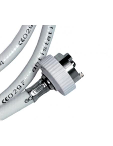 Conector acodado AFNOR tubo de diametro 6 mm.