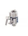 """Selector flujo doble salida para caudalimetro de oxigeno.Conexion 9/16"""""""