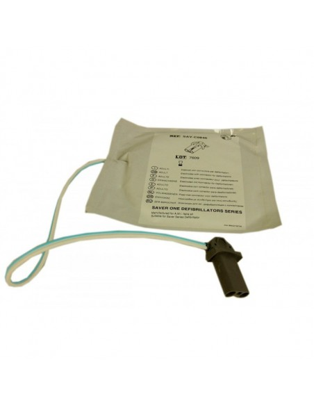Electrodos Desfibrilador Saver One Adulto