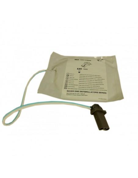 Electrodos desfibrilador Saver One Pediátricos