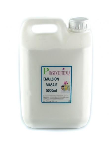 Aceite tipo emulsión para masajes 5000 ml Dvita