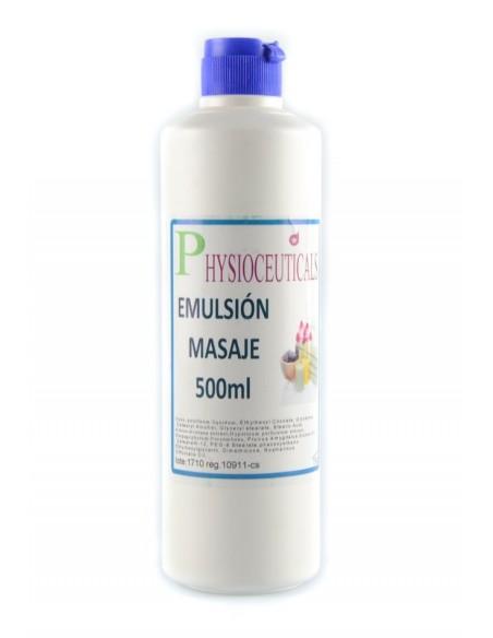 Aceite tipo emulsión para masajes 500 ml Dvita