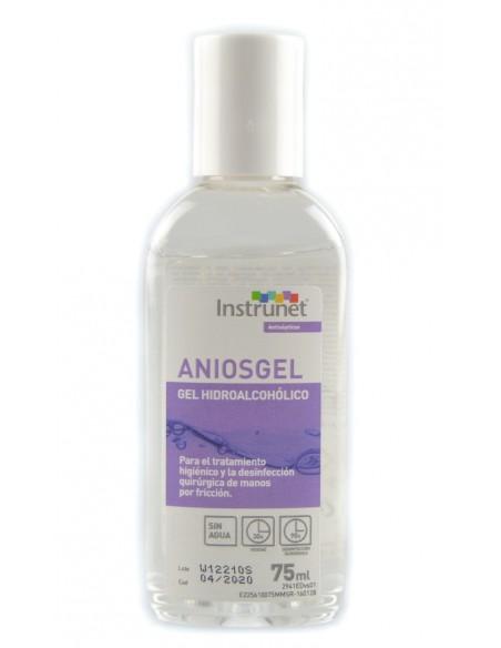 Gel antiséptico de manos INSTRUNET ANIOSGEL.Envase 75 ml