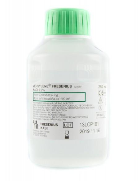 Suero Fisiológico con rosca Versylene 250 ml