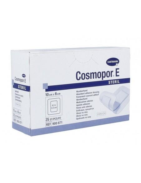 Apósito adhesivo estéril COSMOPOR 10 x 6 cm, 25 uds.