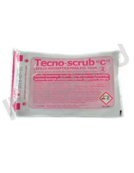 Cepillo quirurgico c/clorexidina
