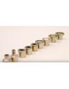 Equipo de microdermoabrasión con puntas de diamante F-834