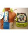 Desfibrilador semiautomatico Zoll AED plus + elec