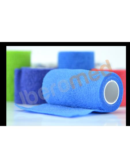 Venda elástica cohesiva azul 7,5 cm x 4,5 m