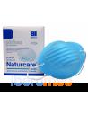 Mascarilla higiénica cónica NATURCARE azul 50 uds