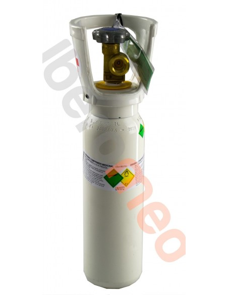 Botella oxigeno medicinal 2 litros