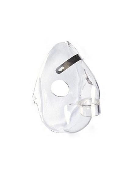 Mascarilla PVC compatible nebulizador OMRON C28. Tamaño infantil 1