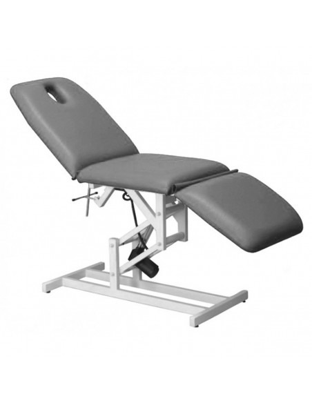 Camilla electrica para masaje de tres cuerpos gris 1