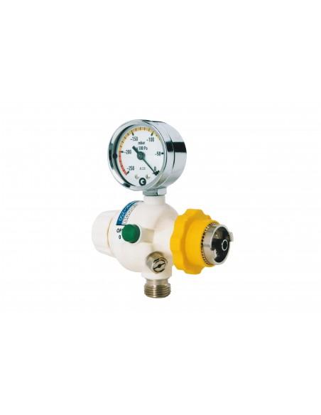 Regulador de aspiración para toma de pared AFNOR de 1000 mbar (750 mmHg) 3