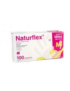 Guante de latex Naturflex...