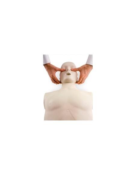Maniquí RCP-AED adulto con subluxación mandibular 2