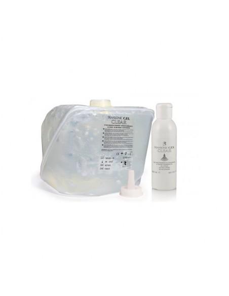 Gel ultrasonidos y depilación TRANSONIC  5l + dosificador 2