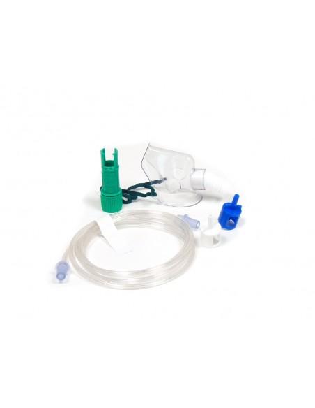 Mascarilla de oxigeno concentración variable. Pediátrica. 2