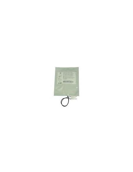 Electrodos adulto compatible con desfibrilador Zoll.  Radiotransparente con Cable fuera 2