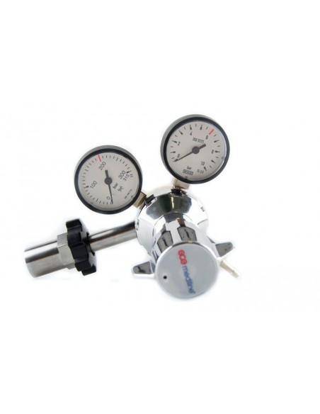 Regulador presión variable botella gas comprimido tipo U.Valido para protoxido 3