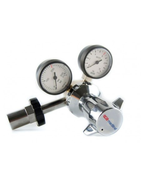 Regulador presión variable botella gas comprimido tipo U.Valido para protoxido 2