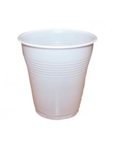 Vasos de plástico blanco...