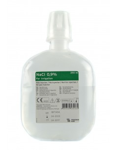 250 ml Suero Fisiológico para Irrigación Labesfal
