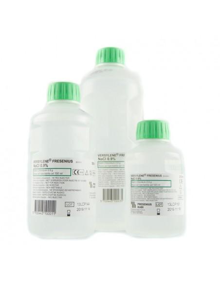 500 ml Suero Fisiológico con rosca-tapón Versylene 1