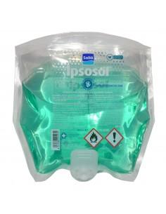 Reposición de solución antiséptica-hidroalcohólica IPSOSOL 800 ml para dispensador de manos