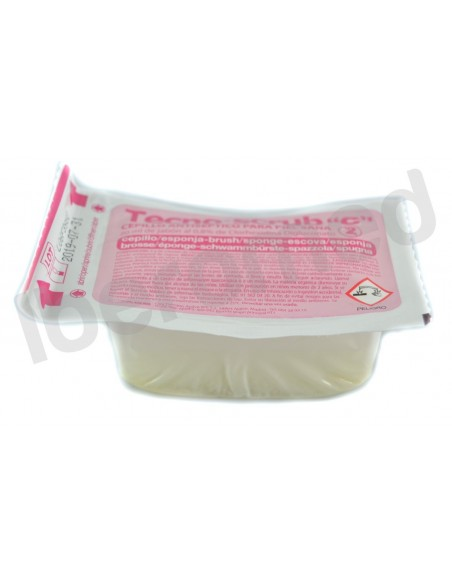 Cepillo quirurgico c/clorexidina 3