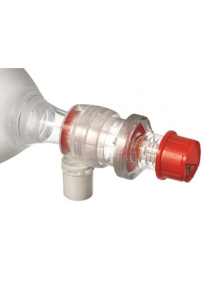 Válvula PEEP Adultos AMBU desechable Presión Máx. 20 cm H2O 3