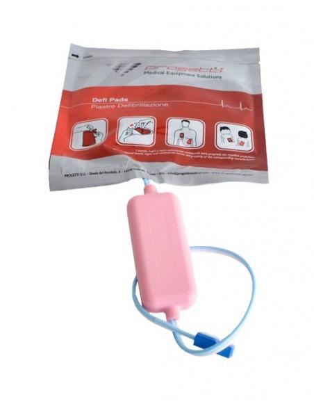 Electrodos pediátricos desfibrilador Rescue SAM 1