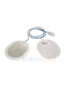 Par De Electrodos Desfibrilación Adulto Compatible MEDTRONIC, OSATU BEXEN, CARDIOLINE y MINDRAY