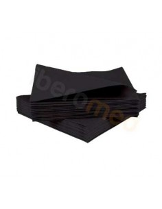 Servilleta Plastificada Negra 33x45cm