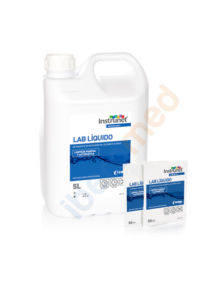 1 Ud. Desinfectante instrumental Instrunet LAB. Monodosis 50ml 1
