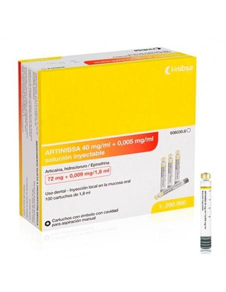ARTINIBSA 40mg/ml + 0,005mg/ml 1
