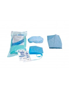 Set quirúrgico dental estéril Auxiliar Omnia (Setass)