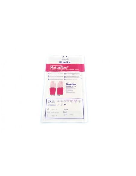 Guante quirúrgico estéril Naturflex latex SP talla 6.5 ( S ) 1